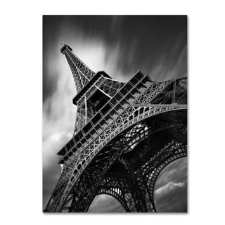 Moises Levy 'Eiffel Tower Study II' Canvas Wall Art