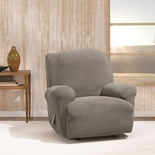 Sure Fit Stretch Morgan Recliner Furniture Cover|//ak1.ostkcdn. & Recliner Covers u0026 Wing Chair Slipcovers - Shop The Best Deals for ... islam-shia.org