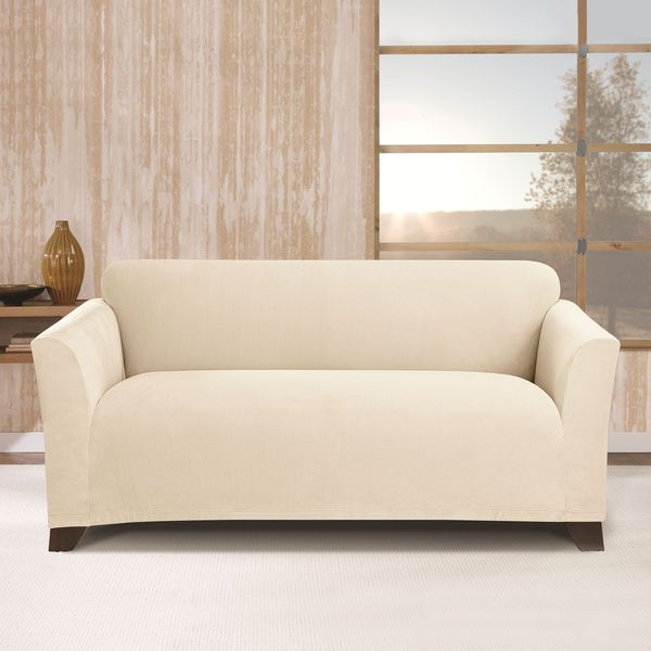 sure fit stretch morgan loveseat furniture cover free shipping today