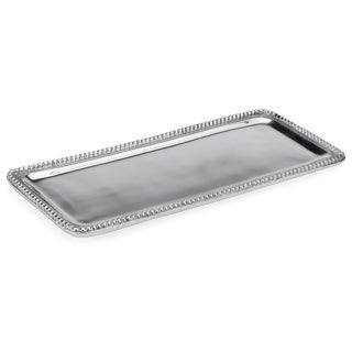 "14"" Beaded Rectangle Tray"