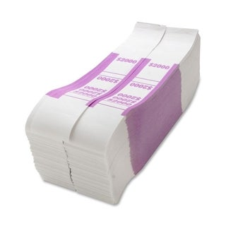 Sparco $2000 Bill Strap - (1000 Per Box)