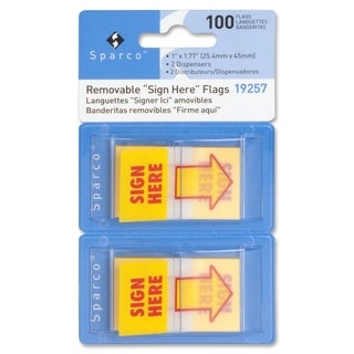 Sparco Printed Flag - (2 Per Pack)