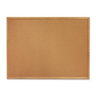 Sparco Wood Frame Cork Board - (1/Each)