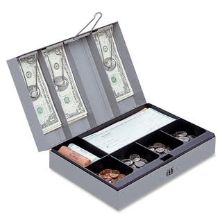 Sparco Steel Combination Lock Cash Box - (1/Each)|https://ak1.ostkcdn.com/images/products/10794846/P17841859.jpg?impolicy=medium
