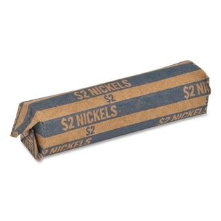 Sparco Flat $2.00 Nickels Coin Wrapper - (1000 Per Box)