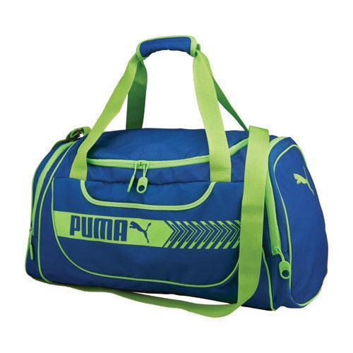 c83a428578e4 Thumbnail PUMA Axium Duffel Blue Lime