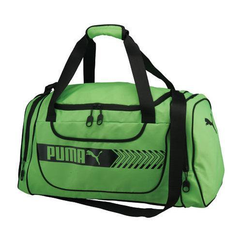 9868077ade73 Shop PUMA Axium Duffel Lime Black - On Sale - Free Shipping On ...