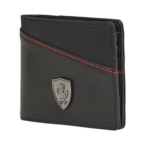 8352ef89d8c7 Shop Men s PUMA Ferrari LS Wallet M 073945 Black - Free Shipping On Orders  Over  45 - Overstock - 11818030