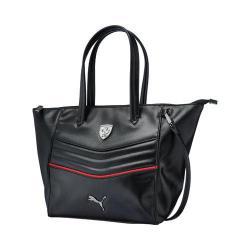 Women's PUMA Ferrari LS Handbag 073937 Black