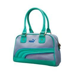 Women's PUMA Foundation Handbag Gray/Green