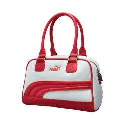 Women's PUMA Foundation Handbag White/Pink
