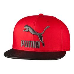 Men's PUMA Suede Snapback Red/Black