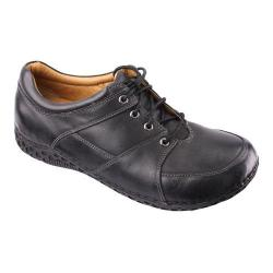 Men's Alegria by PG Lite Bartlett Black Tumbled Leather