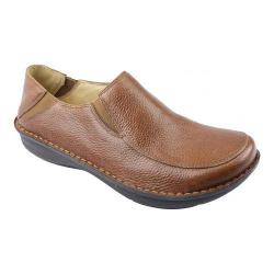 Men's Alegria by PG Lite Schuster Cognac Pull Up Leather
