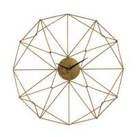 "Sterling Angular Wirework Wall Clock - 24""w x 3""d x 24""h"