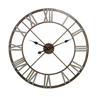 "Sterling Open Center Iron Wall Clock - 27""w x 2""d x 27""h"