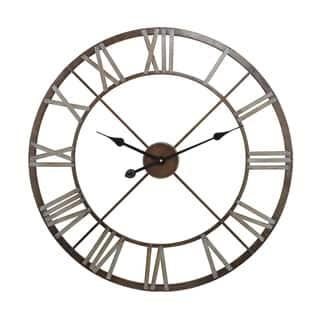 Open Center Iron Wall Clock|https://ak1.ostkcdn.com/images/products/10806366/P17852219.jpg?impolicy=medium