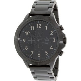 Armani Exchange Men's AX1751 Black Stainless-Steel Quartz Watch