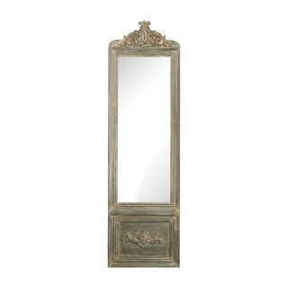 Sterling Bastille Floor Mirror - White/Grey - N/A