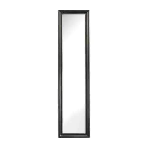Sterling Aged Black Dressing Mirror