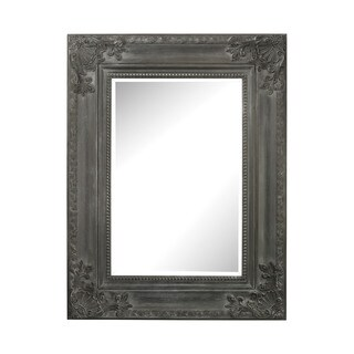 Sterling Marseilles Black Wall Mirror - Black Ash - N/A