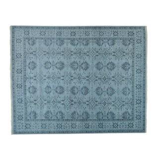 Handmade Oushak Oversize Wool Oriental Rug (11'10 x 14'8)