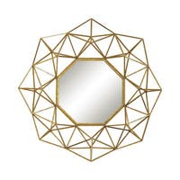 Geometric Wire Mirror