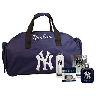 NY Yankees Autographed Mariano Rivera Ltd Edition Cologne 5-piece Set