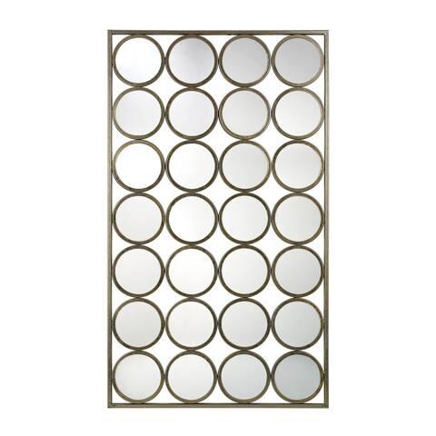 Retro Style Multi-circle Wall Mirror