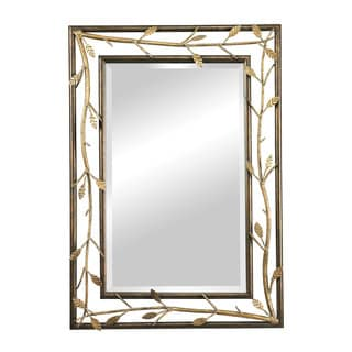 Rhyle Metal Frame Branch Framed Mirror