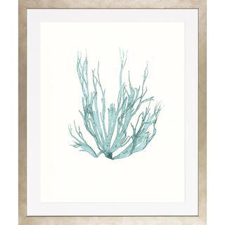 Blue Seaweeds-Medium Framed Art Print I