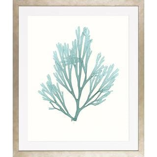 Blue Seaweeds-Medium Framed Art Print III