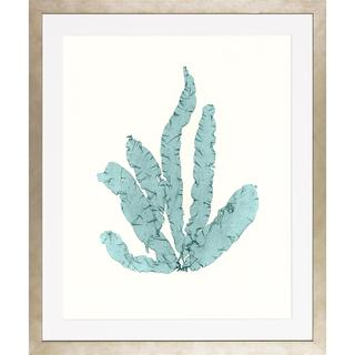 Blue Seaweeds-Medium Framed Art Print IV
