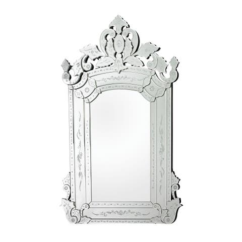 "Bolsover Large Venetian Mirror - Clear - 38""w x 1""d x 58""h"