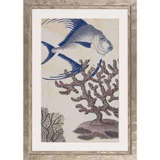Shimmering Sealife Framed Art Print IV