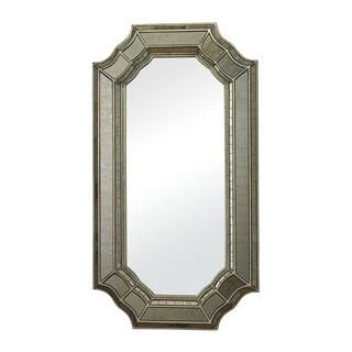 Saranap Smoked and Hand Cut Glass Mirror