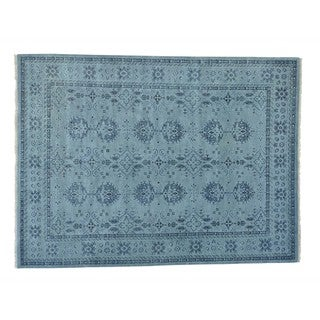 Hand-knotted Wool Oushak Oriental Rug (9' x 12')