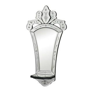 Holtshire Mini Venetian Mirror with Shelf
