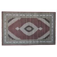 Tabriz Mahi Oversize Wool and Silk Handmade Oriental Rug - 10' x 16'