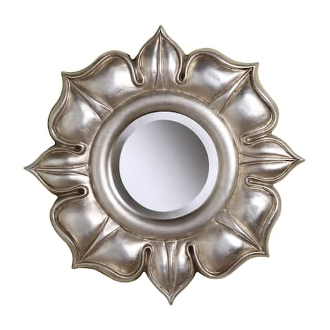 Lotus Round Wall Mirror in