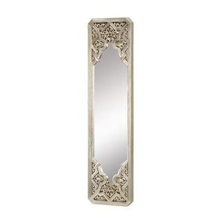 Gothic in Antique Silver Leaf Mirror