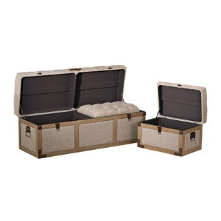 Sterling Belgian Linen Storage Trunks