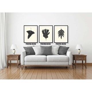 Black Ferns Framed Art Print V
