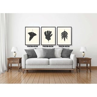 Black Ferns Framed Art Print VI