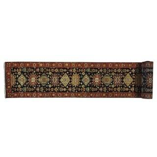 XL Runner Handmade Wool Karajeh Oriental Rug (2'7 x 21'8)