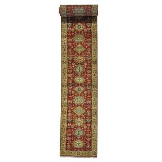XL Runner Hand-knotted Karajeh Oriental Rug (2'7 x 21'10)