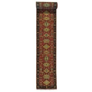 XL Runner Karajeh Wool Handmade Oriental Rug (2'6 x 23'5)