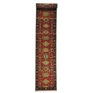 Handmade XL Runner Karajeh Wool Oriental Rug (2'7 x 15'10)