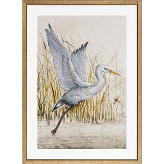 Heron Sanctuary Framed Art Print II