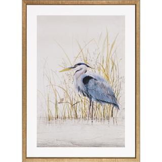 Heron Sanctuary Framed Art Print III